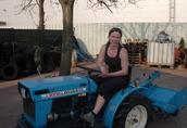 Używane japońskie mini ciągniki-traktory ogrodowe Warszawa 2