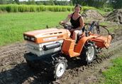 Używane mini traktory ciągniki sadownicze ogrodowe traktorki 3