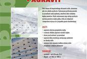 Ogrodnicze Folia perforowana AGRAVIT z wzmocnieniami bocznymi...
