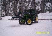 Maszyny leśne traktor, ciągnik rolniczy