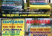 Transport lokalny Przeprowadzki 24 m3 pojemności (wym.wew. kontenera...
