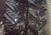 Sprzedam używane opony ciągnikowe tylne, opony z felgami bliżniaczymi    3