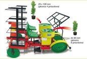 Maszyny i narzędzia Dane techniczne: * wydajność 1 sekcji 3500...