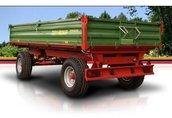 Maszyny i narzędzia Przyczepa PRONAR T653/1 posiada w standardzie bogate...