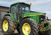 JOHN DEERE 6910 traktor, ciągnik rolniczy 8