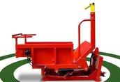 Rozwijarka do bel ze słomy z podwoziem lub maszyna rolnicza