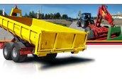 Maszyny i narzędzia Przyczepa kontenerowa PRONAR T185 KO2 służy do przewozu...