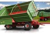 Maszyny i narzędzia Przyczepa PRONAR T680 posiada w standardzie bogate...