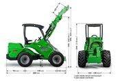 AVANT 700 traktor, ciągnik rolniczy 3
