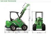 AVANT seria 600 traktor, ciągnik rolniczy 3