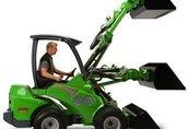 AVANT seria 600 traktor, ciągnik rolniczy 7