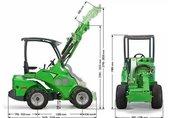 AVANT 500 traktor, ciągnik rolniczy 2
