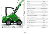 AVANT 400 traktor, ciągnik rolniczy 2