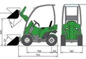AVANT 200 traktor, ciągnik rolniczy 1