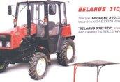 BELARUS 310/320 traktor, ciągnik rolniczy