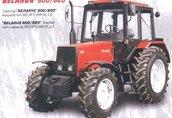 BELARUS 800/820 traktor, ciągnik rolniczy