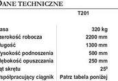 SPYCHACZ CZOŁOWY OBRONIKA T201 maszyna rolnicza