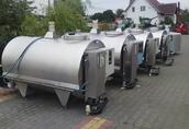 Zbiorniki do mleka od 400 do 7000L