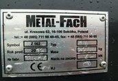 METAL-FACH PRASA BELUJĄCA METALFACH Z 562-14E ROTOR,CENTRALNE SMAROWANIE, OB 2 10