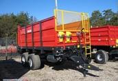 nowy rozrzutnik obornika metal-fach 8 ton