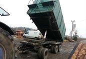 Maszyny i narzędzia masa całkowita 24 tony ładownosc 18, 5 tony 20 m3...