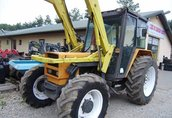 RENAULT z ładowaczem 681.4s 1986 traktor, ciągnik rolniczy
