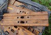 Płytki, klepki gąsienicy BERCO, JCB CAT CASE