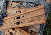 Płytki, klepki gąsienicy BERCO, JCB CAT CASE 1