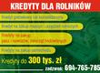 Pozostałe kredytydlarolnikow-24.pl Oferujemy
