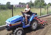 Używane mini traktory ciągniki sadownicze ogrodowe traktorki 6
