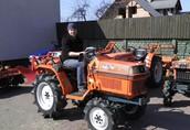 Używane mini traktory ciągniki sadownicze ogrodowe traktorki 10