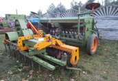 AMAZONE D8 Specjal + brona aktywna wahadłowa agregat rolniczy