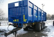 Maszyny i narzędzia NT AGRO to marka przyczep produkowanych w Polsce...