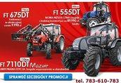 FARMTRAC PROMOCJA, NAJTANIEJ, FARMTRAC 555, 675, 7100 MAZUR traktor, ciągnik r 3