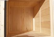 Ule wielkopolskie drewniane 12 ramkowe - nowe 2