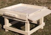 Ule wielkopolskie drewniane 12 ramkowe - nowe 3