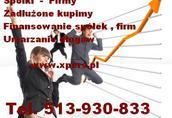 Zainwestujemy w spółkę z długami . Tel.513-930-833
