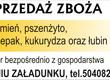 Jęczmień Kupię jęczmień zbiory 2014 i starszy