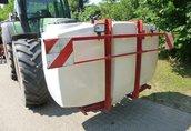 Maszyny i narzędzia 2500 Liter Saattank, 1500 Liter Flüssigdünger-Fronttank...