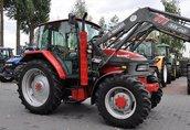 MCCORMICK CX75 + TUR MAILLEUX MX60 2006 traktor, ciągnik rolniczy