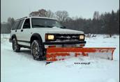 chevrolet blazer pługi śnieżne do samochodu pług