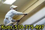 Remonty pomieszczeń Oferujemy usługi izolowania natryskowego piank...
