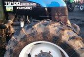 Maszyny i narzędzia Ciagnik rolniczy NEW HOLLAND TS 100 - silnik...