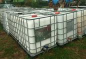 Zbiornik 1000L mauzer beczka na budowe, deszczówke, wodę, nawozy