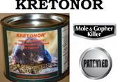 Kretonor - środek na krety, trutka na krety
