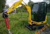 Młot hydrauliczny do minikoparki 1, 5 tony JCB 8018