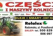 keverland pług prasa traktor duży wybór części Radomsko