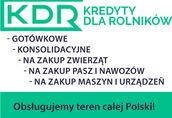 Kredyty i Leasing DLA ROLNIKÓW na Jałowki/Byczki/Maszyny