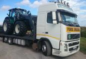 Transport ciągników maszyn rolniczych
