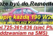 Kupię Mercedesa 190 124 w124 814 817 914 917 1014 1017